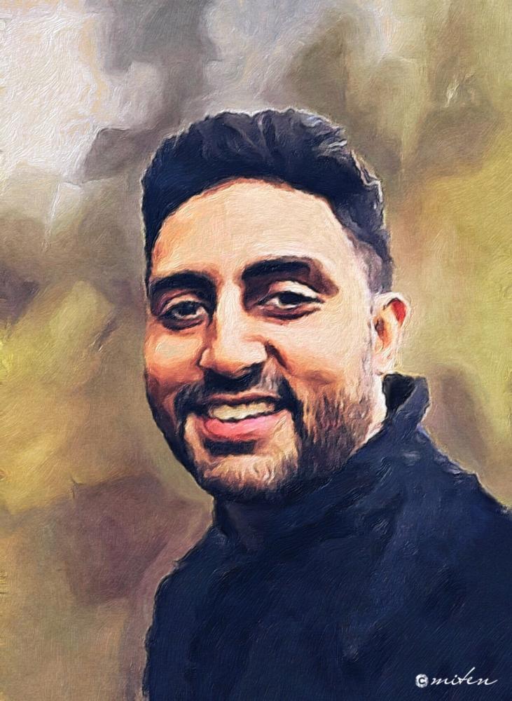 Abhishek Bachchan por lapsiyaji